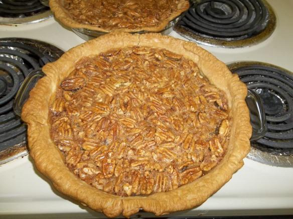Yummy delicious pecan pie!!