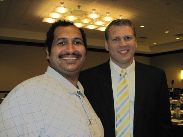 Zel and keynote speaker Chris Nowinski.