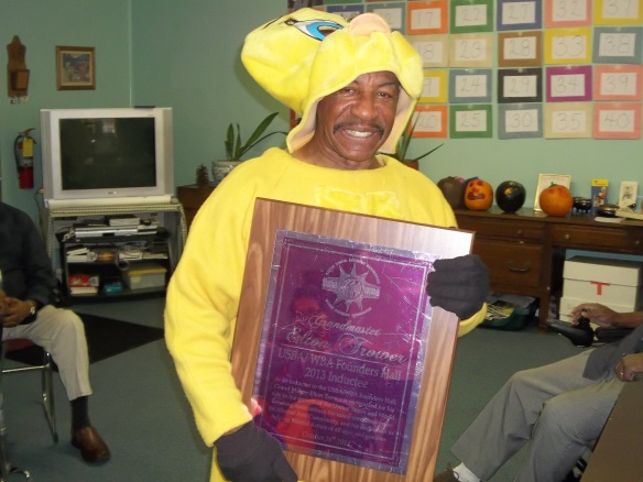 Grandmaster Elton Trower, who runs our United Way sponsored exercise group, is a 2013 Inductee into the USBA/WBA Founders Hall (the highest honor they give). Go Sensei with your bad self!!