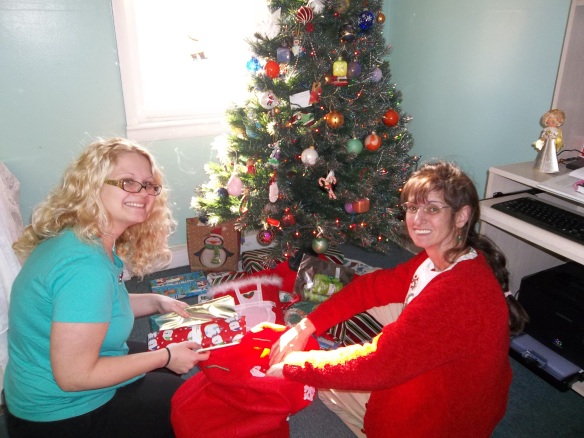 The staff and residents of the Hermitage donated gifts this year - thank you so much!!